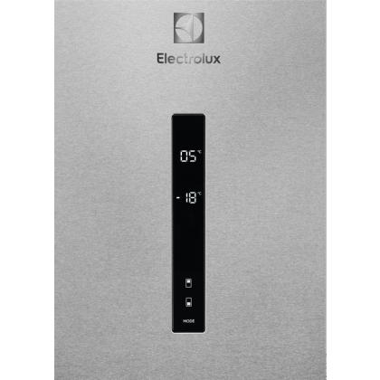 Combina frigorifica Electrolux LNT7ME32X2, 324 litri, clasa E, Frost free, inox antiamprenta, TwinTech