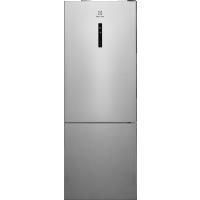 Combina frigorifica Electrolux LNT7MF46X2, 461 litri, Frost free, inox antiamprenta, TwinTech