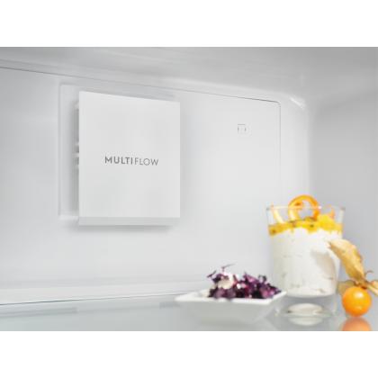 Combina frigorifica Electrolux LNT7MF46X2, 461 litri, A+, Frost free, inox antiamprenta, TwinTech