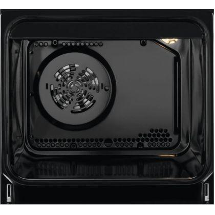 Aragaz mixt AEG CKB56471BW, SteamBake, AirFry, 50 cm, alb