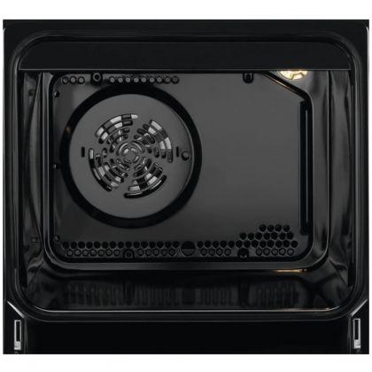 Aragaz electric AEG CCB56471BW, SteamBake, AirFry, 50 cm, alb, suprafata vitroceramica