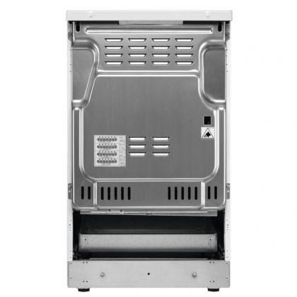 Aragaz electric AEG CIB56470BX, SteamBake, AirFry, 50 cm, inox, suprafata inductie