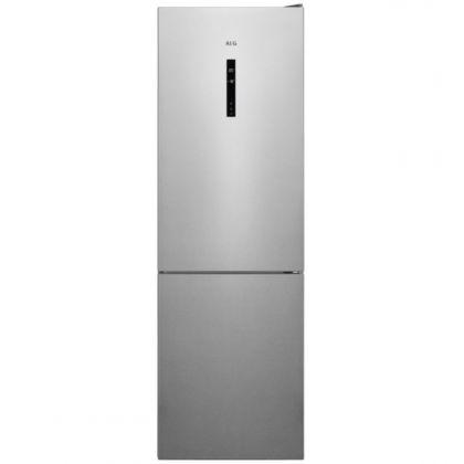Combina frigorifica AEG RCB632E5MX, 324 l, A++, frost free, inox antiamprenta, TwinTech, MultiFlow