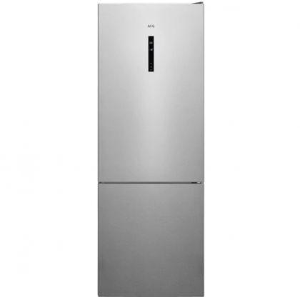 Combina frigorifica AEG RCB646E3MX, 461 l, A++, frost free, inox antiamprenta, TwinTech, MultiFlow