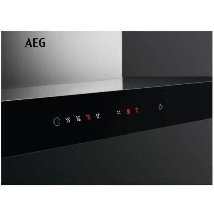 Hota semineu AEG DBE5661HG, 700 mc/h, 60 cm, inox, Hob2Hood, Breeze