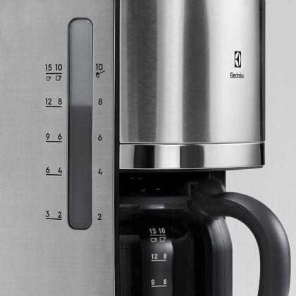 Cafetiera Electrolux EKF7700, seria 7000, inox, 1080 W