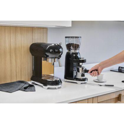 Rasnita de cafea retro Smeg CGF01BLEU, negru