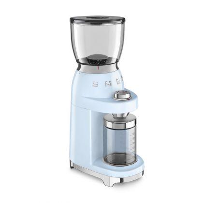 Rasnita de cafea retro Smeg CGF01PBEU, albastru