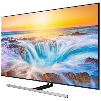 Televizor QLED Smart Samsung QE55Q85RA, 138 cm, 4k Ultra HD, Quantum 4k processor