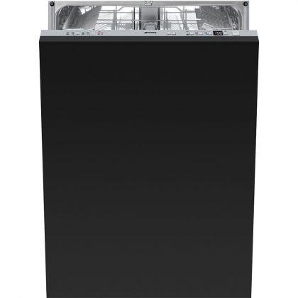 Masina de spalat vase complet incorporabila Smeg STLA825B-2, 60 cm, A+++, 13 seturi, 10 programe, deschidere automata usa