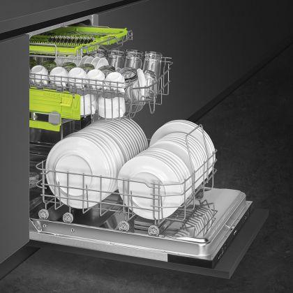 Masina de spalat vase complet incorporabila Smeg STE531, 60 cm, A+, 13 seturi, 5 programe
