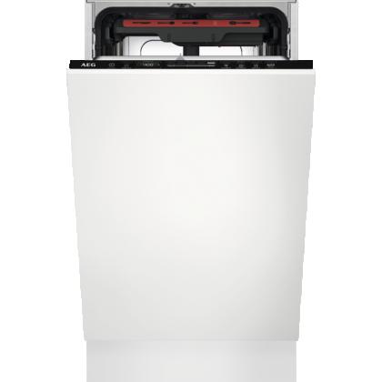 Masina de spalat vase incorporabila AEG FSE73507P, MaxiFlex, AirDry, 45 cm, 9 seturi, inverter, A+++, indicator luminos
