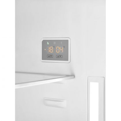 Combina frigorifica retro Smeg Portofino FA490RBL, 70 cm, neagra, No Frost