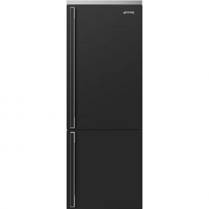 Combina frigorifica retro Smeg Portofino FA490RAN, 70 cm, antracit, No Frost