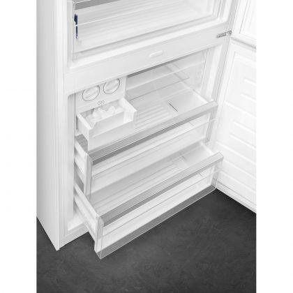 Combina frigorifica retro Smeg Portofino FA490RWH, 70 cm, alb, No Frost