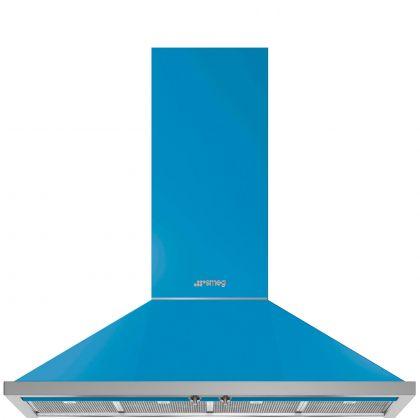 Hota semineu Smeg Portofino KPF12T, 120 cm, Turquoise