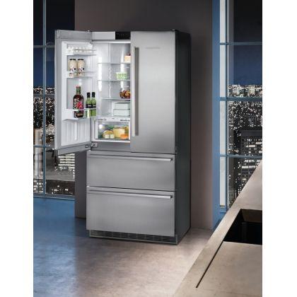Combina frigorifica Liebherr CBNes 6256, No Frost, IceMaker, BioFresh, 471 L, clasa A++, inox