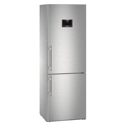 Combina frigorifica Liebherr CBNes 5778, No Frost, BioFresh, 381 L, clasa C, inox