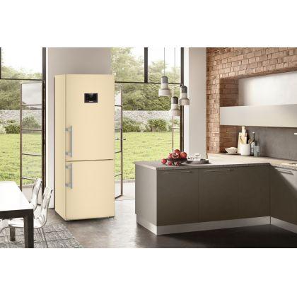 Combina frigorifica Liebherr CBNbe 5778, No Frost, BioFresh, 381 L, clasa C, bej