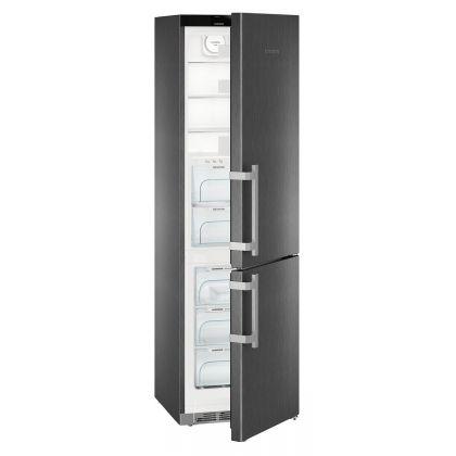 Combina frigorifica Liebherr CBNbs 4835, No Frost, BioFresh, 343 L, clasa D, BlackSteel