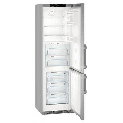 Combina frigorifica Liebherr CBNef 4835 No Frost, BioFresh, 343 L, clasa A+++, silver
