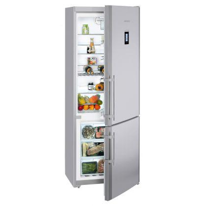 Combina frigorifica Liebherr CNPesf 5156, No Frost, DuoCooling, 453 L, clasa F, silver
