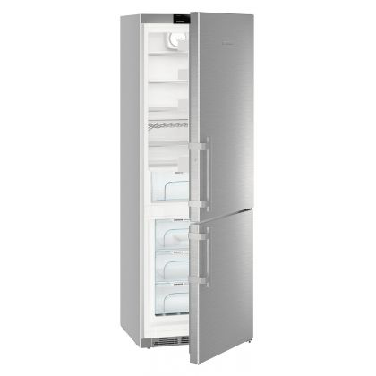 Combina frigorifica Liebherr CNef 5735, No Frost, DuoCooling, BioCool, 402 L, clasa D, silver