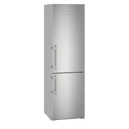 Combina frigorifica Liebherr CNef 4835, No Frost, DuoCooling, BioCool, 361 L, clasa A+++, silver