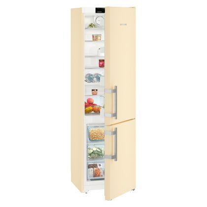 Combina frigorifica Liebherr CNbe 4015, No Frost, DuoCooling, 356 L, clasa A++, Bej