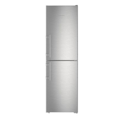 Combina frigorifica Liebherr CNef 3915, No Frost, DuoCooling, 340 L, clasa A++, Silver