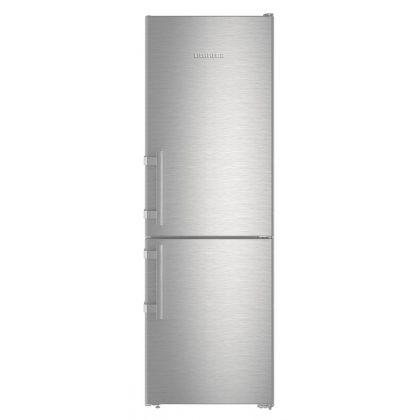 Combina frigorifica Liebherr CNef 3515, No Frost, DuoCooling, 308 L, clasa A++, silver