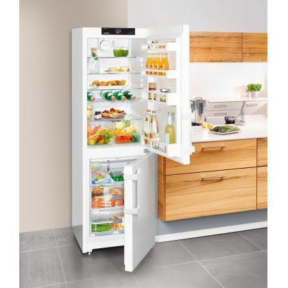 Combina frigorifica Liebherr CN 3515, No Frost, DuoCooling, 308 L, clasa A++, alb