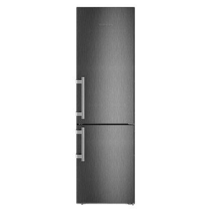 Combina frigorifica Liebherr CNbs 4835, No Frost, DuoCooling, BioCool, 361 L, clasa A+++, BlackSteel