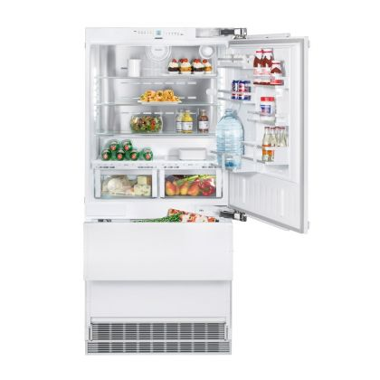 Combina frigorifica incorporabila Liebherr ECBN 6156, No Frost, Biofresh, IceMaker, 471 l, clasa A+