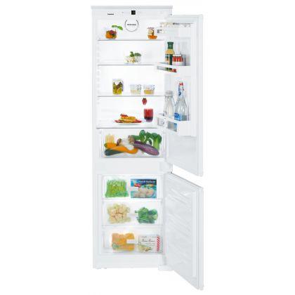 Combina frigorifica incorporabila Liebherr ICUS 3324, SmartFrost, BioCool, SuperFrost, 274 l, clasa A++, glisare