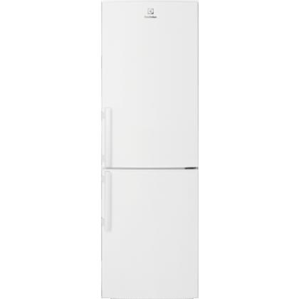 Combina frigorifica Electrolux LNT3LE34W4, Static low frost, 60 cm, alb