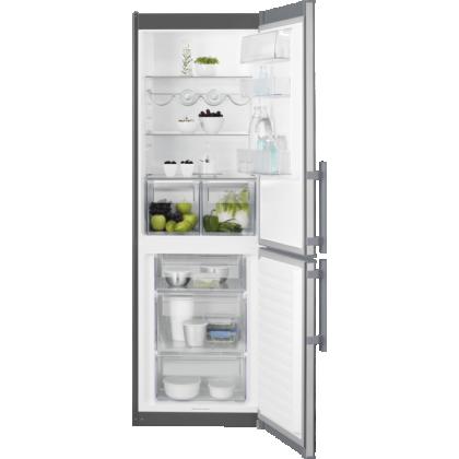 Combina frigorifica Electrolux LNT3LE34X4, Low Frost, 60 cm, inox