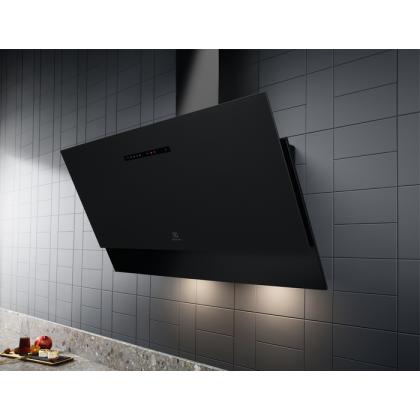 Hota de perete Electrolux LFV619R, 90 cm, neagra, Hob2Hood, Breeze