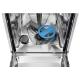 Masina de spalat vase complet incorporabila Electrolux EEG62300L, 45 cm, TimeBeam, 9 seturi, 8 programe