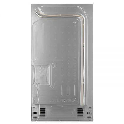 Combina frigorifica cu 4 usi AEG RMB954F9VX, 90 cm, CustomFlex, 541 l net, No Frost Inteligent, dozator bauturi