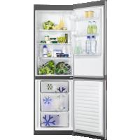 Combina frigorifica Zanussi ZNLN34FX2, 60 cm, inox, Static low frost