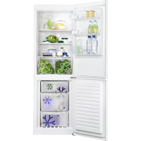 Combina frigorifica Zanussi ZNLN34FW2, 60 cm, alba, Static low frost