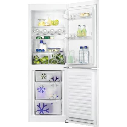 Combina frigorifica Zanussi ZNLN31EW2, 60 cm, A++, alb