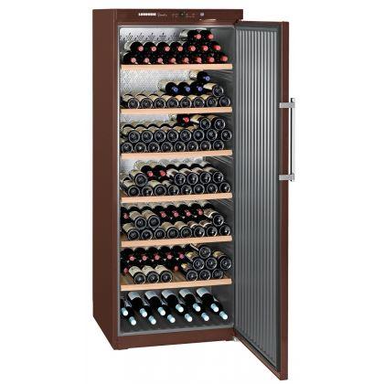 Vitrina de vin GrandCru Liebherr WKt 6451 culoare Terra, o zona de temperatura individuala, 625 l, 312 sticle