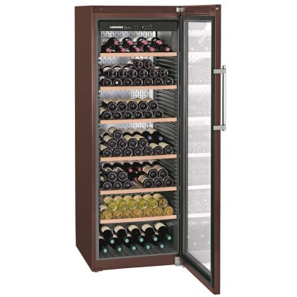 Vitrina de vin GrandCru Liebherr WKt 5552 culoare Terra, protectie UV, o zona de temperatura individuala, 525 l, 253 sticle