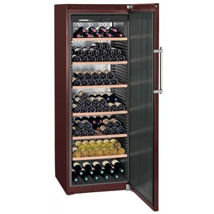 Vitrina de vin GrandCru Liebherr WKt 5551 culoare Terra, o zona de temperatura individuala, 499 l, 253 sticle