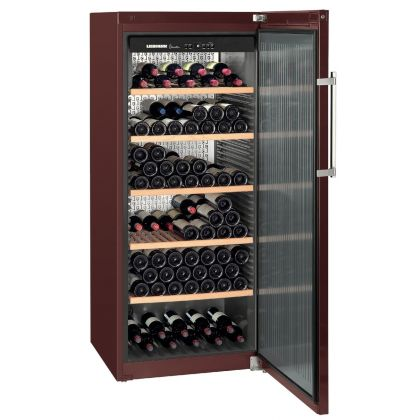 Vitrina de vin GrandCru Liebherr WKt 4551 culoare Terra, o zona de temperatura individuala, 413 l, 201 sticle