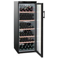 Vitrina de vin Vinothek Liebherr WTb 4212 negru, protectie UV, 6 zone graduale de temperatura, 395 l, 200 sticle