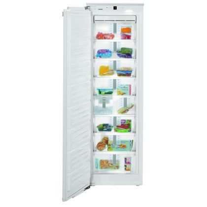 Congelator incorporabil Liebherr SIGN 3576, No Frost, SuperFrost, IceMaker, SoftSystem, 209 l