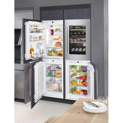 Congelator incorporabil sub blat Liebherr IGN 1664, No Frost, SuperFrost, SoftSystem, 84 l, clasa E
